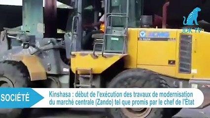 RDC : destruction du marché central de Kinshasa (Zando)