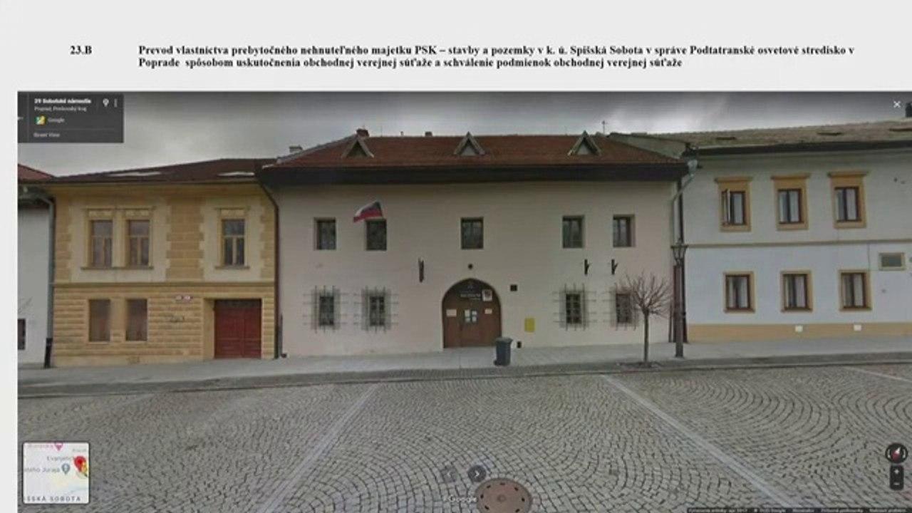 PREŠOV-PSK 26: Záznam zasadnutia Zastupiteľstva Prešovského samosprávneho kraja (PSK)
