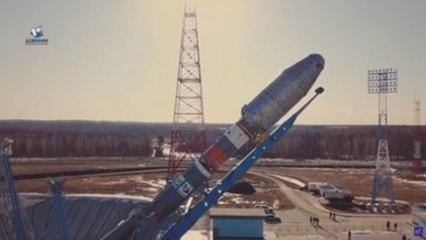 Soyuz rocket launches 38 international satellites from Baikonur