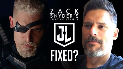 Did They Really Fix Justice League With The Snyder Cut? (Interview With the Joe Manganiello)