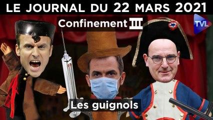 Confinement III : les bras cassés d'Emmanuel Macron - JT du lundi 22 mars 2021