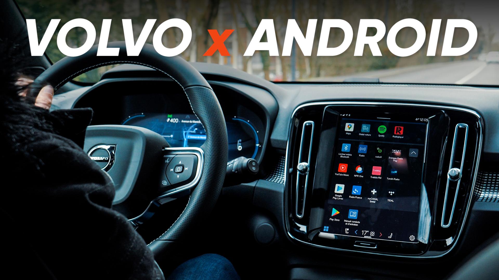 On teste l'interface Android qui équipera votre prochaine voiture !
