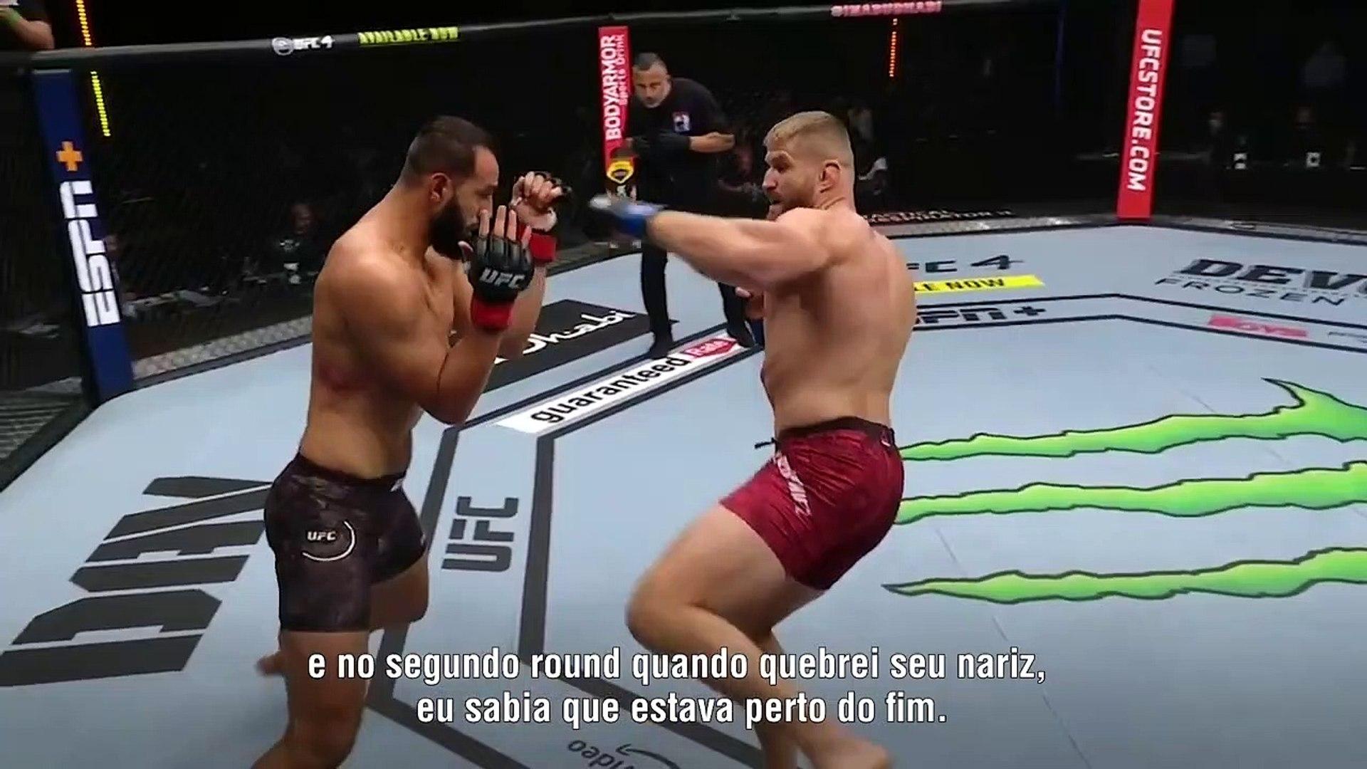 Veja o nocaute de Jan Blachowicz | UFC 253