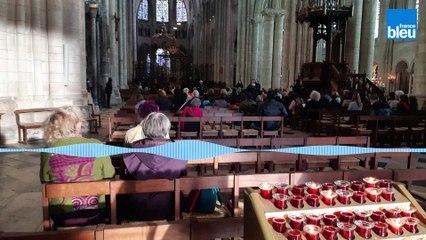 """Tournage à Sens dans l'Yonne, de """"Notre-Dame brûle"""" par Jean-Jacques Annaud"""