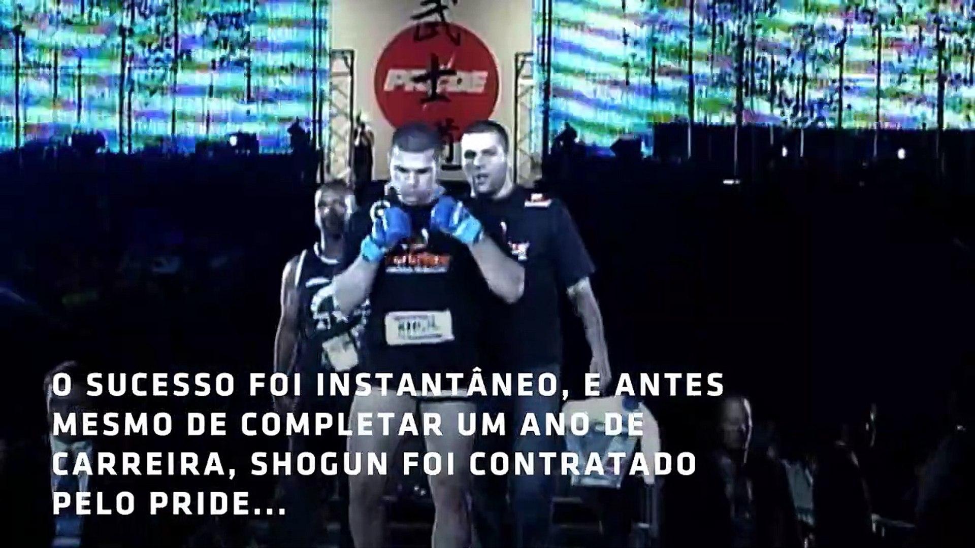 """UFC Contando a História: Maurício """"Shogun"""" Rua"""
