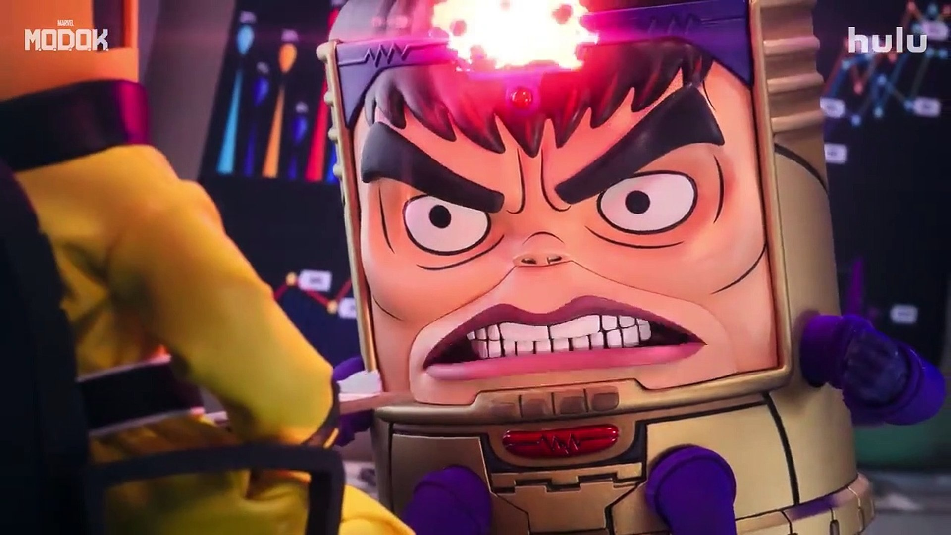 Marvel's M.O.D.O.K. - Official Teaser Trailer (2021) Patton Oswalt, Ben Schwartz | Hulu