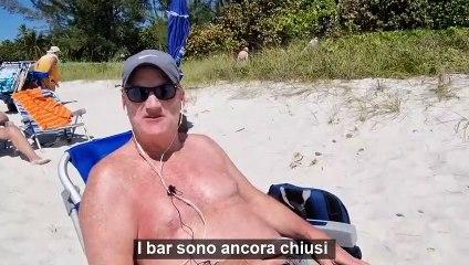 """I turisti a Naples (Florida): """"Qui per le poche restrizioni e il vaccino"""""""