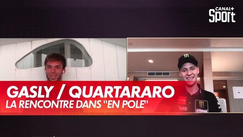 Gasly / Quartararo : la rencontre
