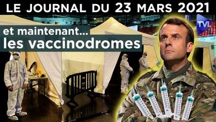 Confinement, vaccins : Macron, roi de l'embrouille - JT du mardi 23 mars 2021