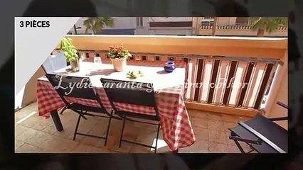 Vente appartement 3 pièces centre ville Sainte-Maxime avec a
