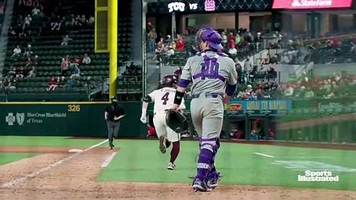 Mississippi State baseball highlights versus TCU