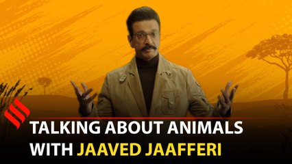 Jaaved Jaafferi on playing multiple characters for Nat Geo's Animals Gone Wild, his favourite animal and his inspirations