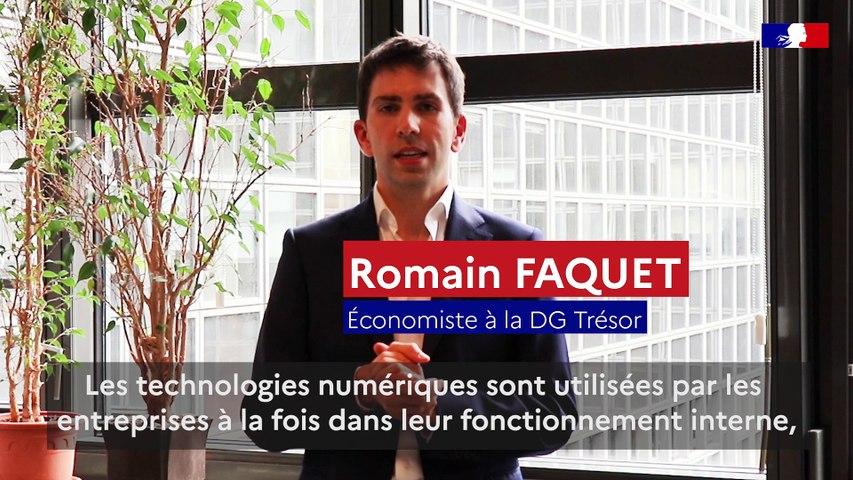 Trésor-éco | Numérisation des entreprises françaises