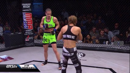 Stephanie Eggink vs Heather Clark - BOXE FRANÇAISE