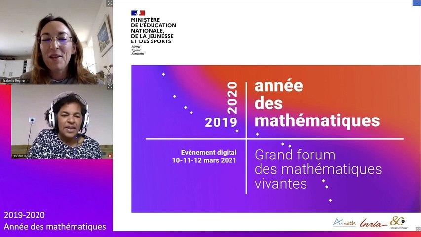 Conférence 4 L'influence  des stéréotypes de genre sur les performances et els auto-évaluations en mathématiques chez les enfants, Isabelle Régner -Professeure en psychologie sociale Aix-Marseille Université, Vice-Présidente Égalité Femmes Hommes et Lutt