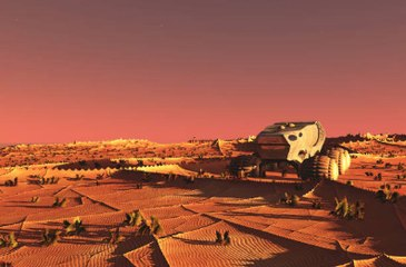 First Sustainable City Plans on Mars Unveiled