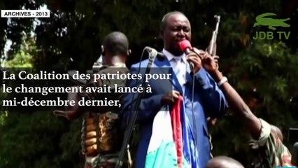 FRANÇOIS BOZIZÉ prend la tête de la coalition des patriotes pour le changement