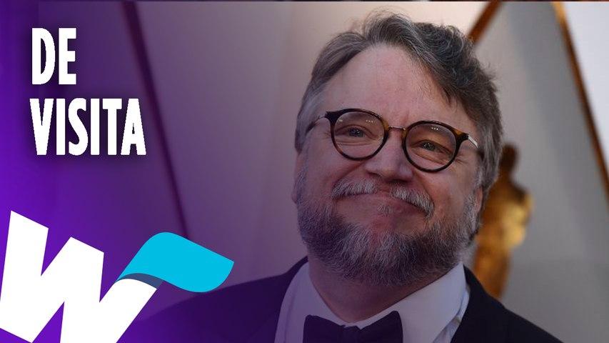 Guillermo del Toro está de visita en Guadalajara.