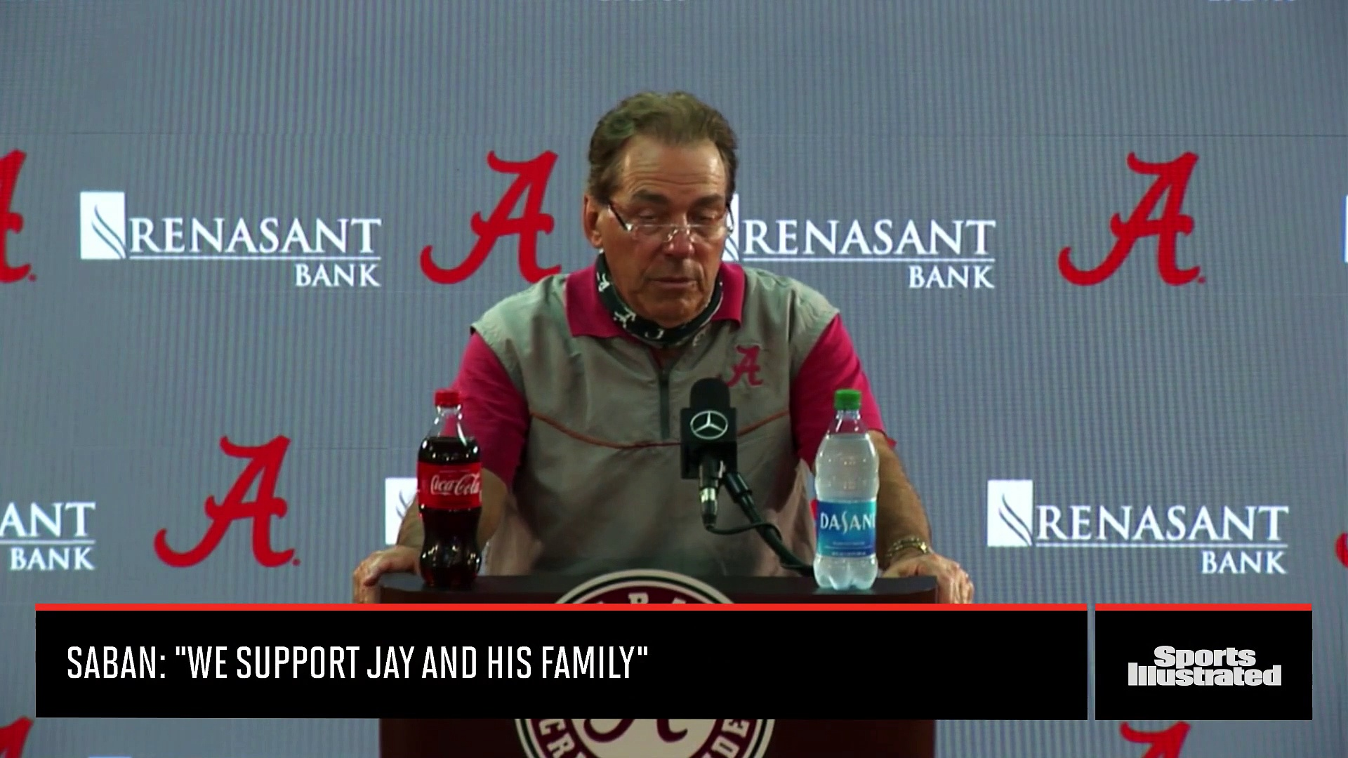 Alabama Football Assistant Coach Jay Graham Cites Mental Health for Resignation