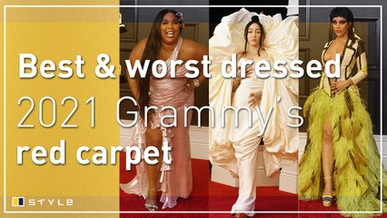 Best and worst dressed on the 2021 Grammy's red carpet