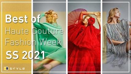 Paris Haute Couture Fashion Week's best spring/summer 2021 looks
