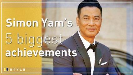 Simon Yam's 5 biggest career achievements