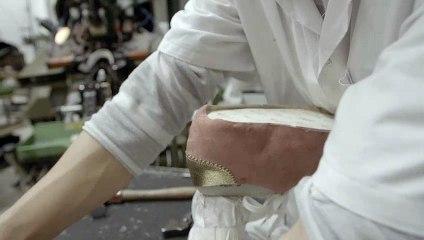 Dans l'Atelier de Mr Paul, un des ateliers français de fabrication des chaussures Un Si Beau Pas
