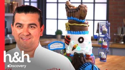 Casal vence desafio ao aplicar conhecimentos de engenharia em bolo | Asse como Buddy | H&H Brasil