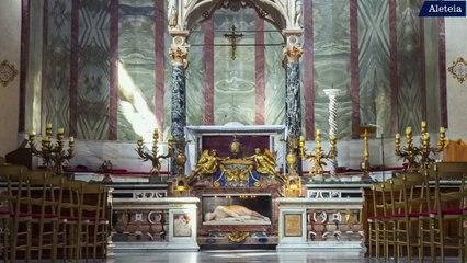 A la découverte de l'église romaine Sainte-Cécile-du-Trastevere