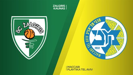 EuroLeague 2020-21 Highlights Regular Season Round 31 video: Zalgiris 81-88 Maccabi