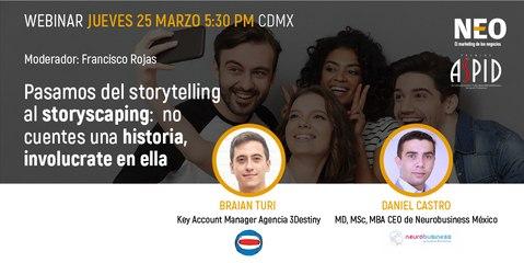 Webinar: Del storytelling al storyscaping