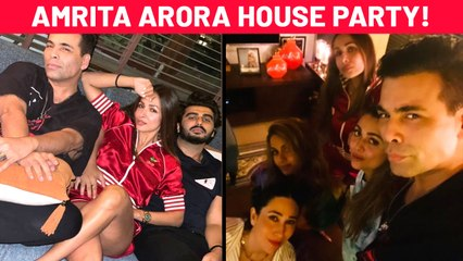 Malaika's Cozy Pic, Karan - Gauri's Group Selfie| Bollywood Stars ATTEND Amrita Arora's House Party