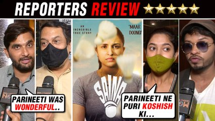 Saina Movie HONEST Reporters Review | Parineeti Chopra
