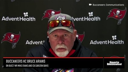 Tampa Bay Buccaneers' HC Bruce Arians on Mike Evans and Carlton Davis