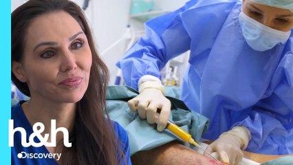Doutora Cathy cura pé de idosa com lipoaspiração | Dra. Cathy: Devolvendo a Autoestima | H&H Brasil