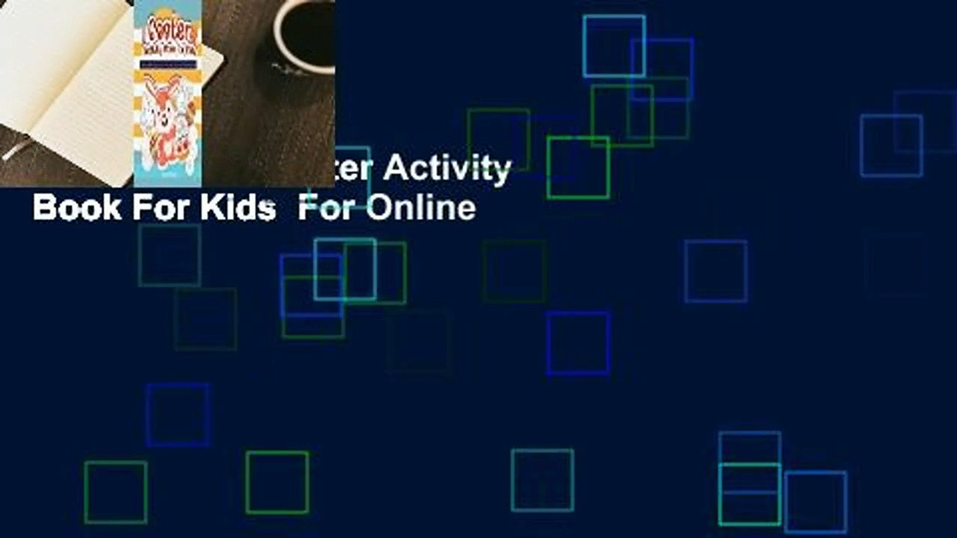 Full version  Easter Activity Book For Kids  For Online