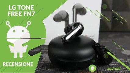 RECENSIONE LG Tone Free FN7: le True Wireless che mirano a design e pulizia