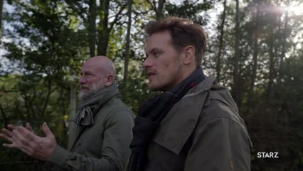 """""""Men in Kilts"""" Exclusive Clip: Sam Heughan Reunites with """"Outlander"""" Co-Star"""