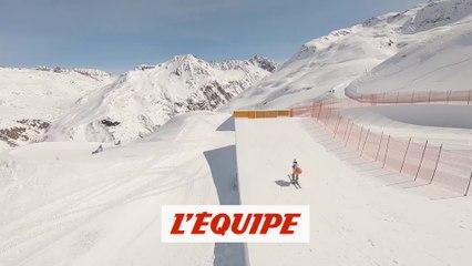 Découvrez le parcours grâce à un drone - Skicross - Red Bull Super Skicross