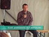 Conférence préhistorique archéologique corse 1/4