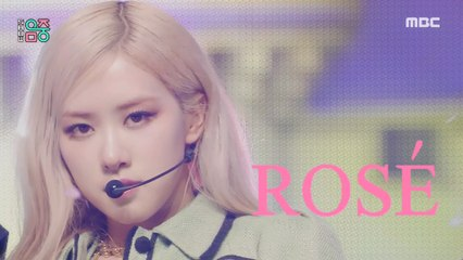 [HOT] ROSÉ - On The Ground, 로제 - 온 더 그라운드 Show Music core 20210327