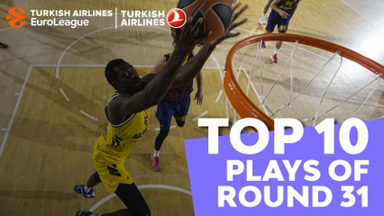Regular Season, Round 31: Top 10 plays