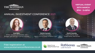 WATCH LIVE: The Scotsman - Annual Investment Conference 2021
