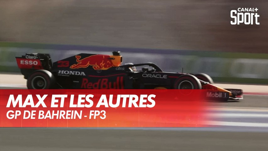 Max Verstappen met 7 dixièmes à la concurrence en FP3 - GP de Bahreïn