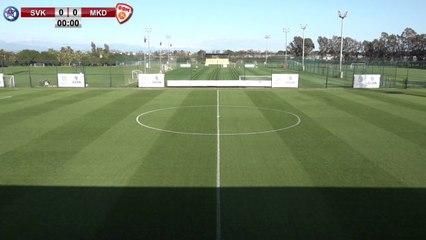 RELIVE: enda TOUR Antalya Cup 2021: SVK U21 v MKD U21