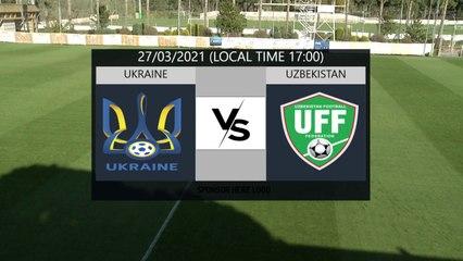 RELIVE: enda TOUR Antalya Cup 2021: UKR U21 v UZB U21