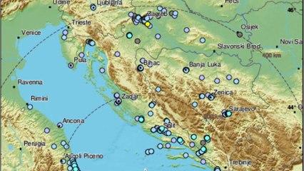 Forte scossa di terremoto 5.9 nell'Adriatico, avvertita in Puglia, Molise ed Abruzzo