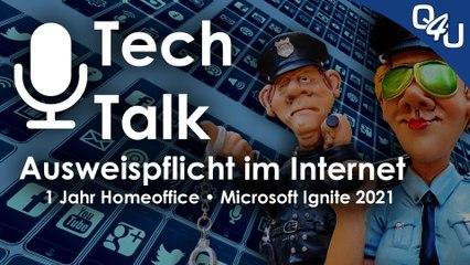 Ausweispflicht im Netz, 1 Jahr Homeoffice, Ignite, Datenkakophonie, OVH | QSO4YOU.com Tech Talk #37