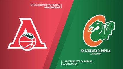 EB ANGT Belgrade Highlights: Lokomotiv 67-71 Olimpija