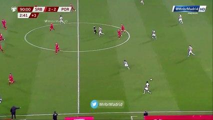 Cristiano Ronaldo đã bị cướp mất bàn thắng ở những phút bù giơ cuối cùng